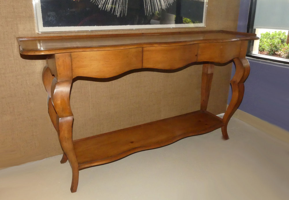 SOLD  Baker Milling Road French Country Console Table