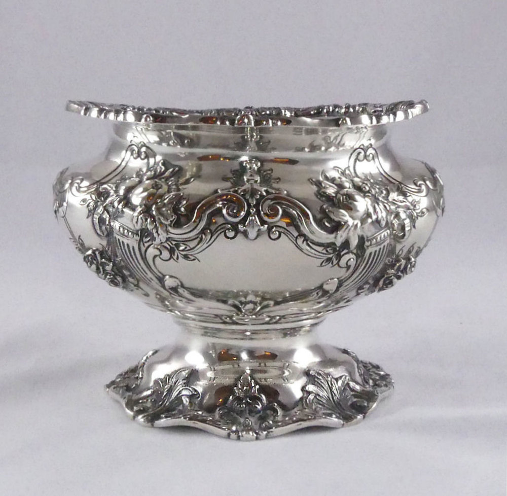 SOLD  Reed & Barton Francis I Sterling Silver Waste Bowl or Sugar Bowl