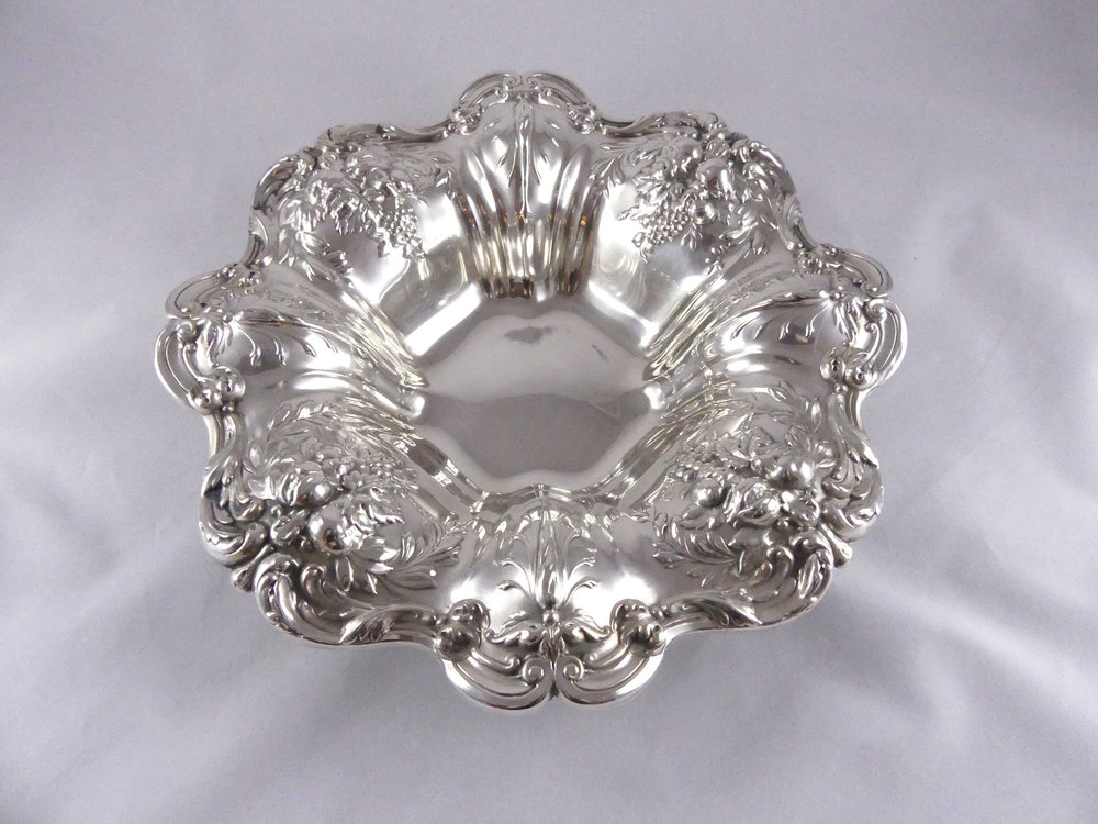SOLD  Reed & Barton Francis I Sterling Silver 11-Inch Vegetable Bowl