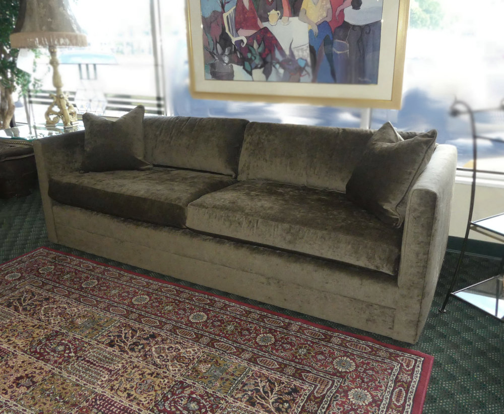 SOLD  Mitchell Gold + Bob Williams Contemporary Sofa