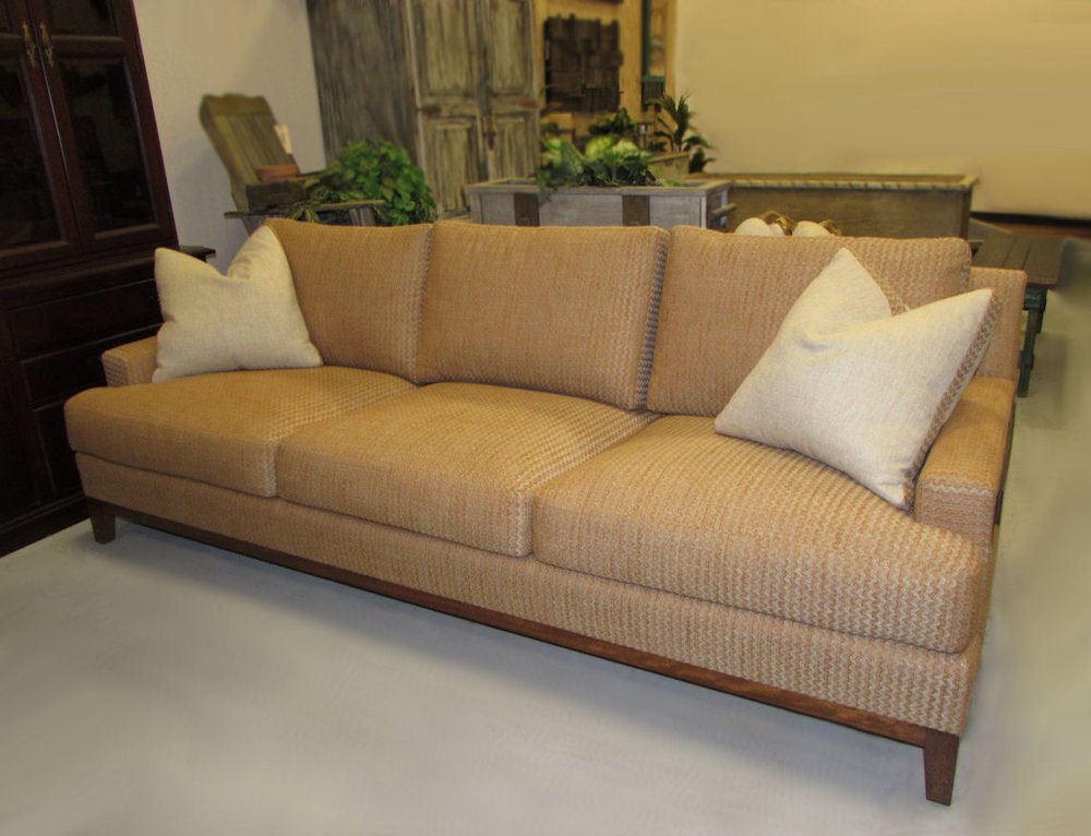 High End Adriana Hoyos Customized Sofa - Showroom Floor Sample Reduced: $2,000  / Originally: $3,800