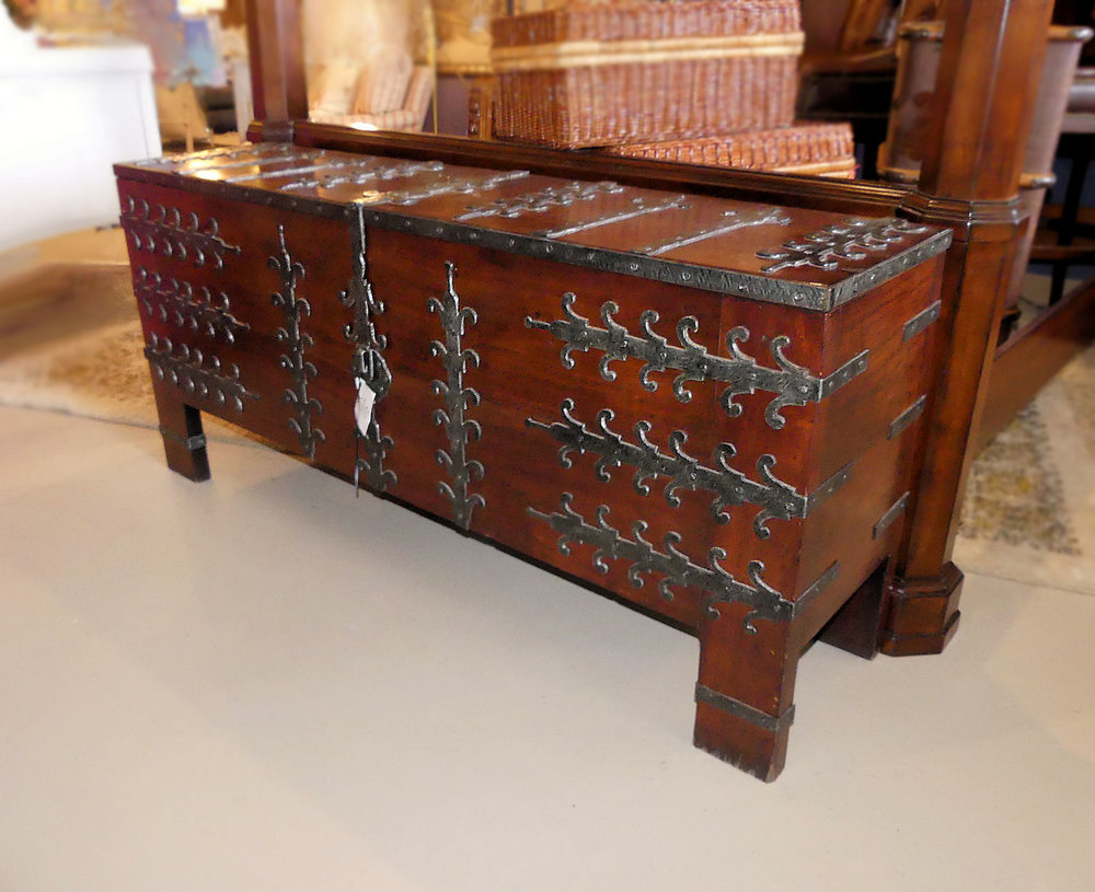 SOLD  Morgan Hill (Maitland Smith) Blanket Chest