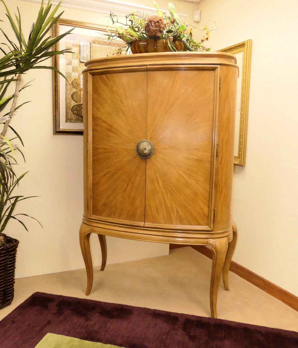 Bernhardt Lighted Bar Cabinet  $1,150