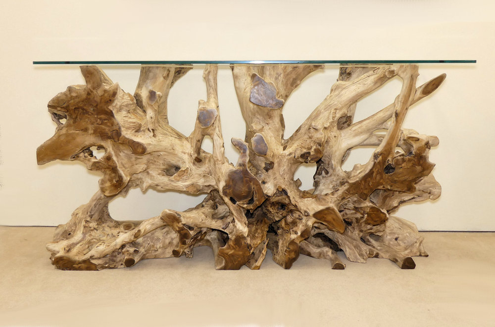 SOLD  Mitchell Gold Bob Williams Tremont Driftwood Console