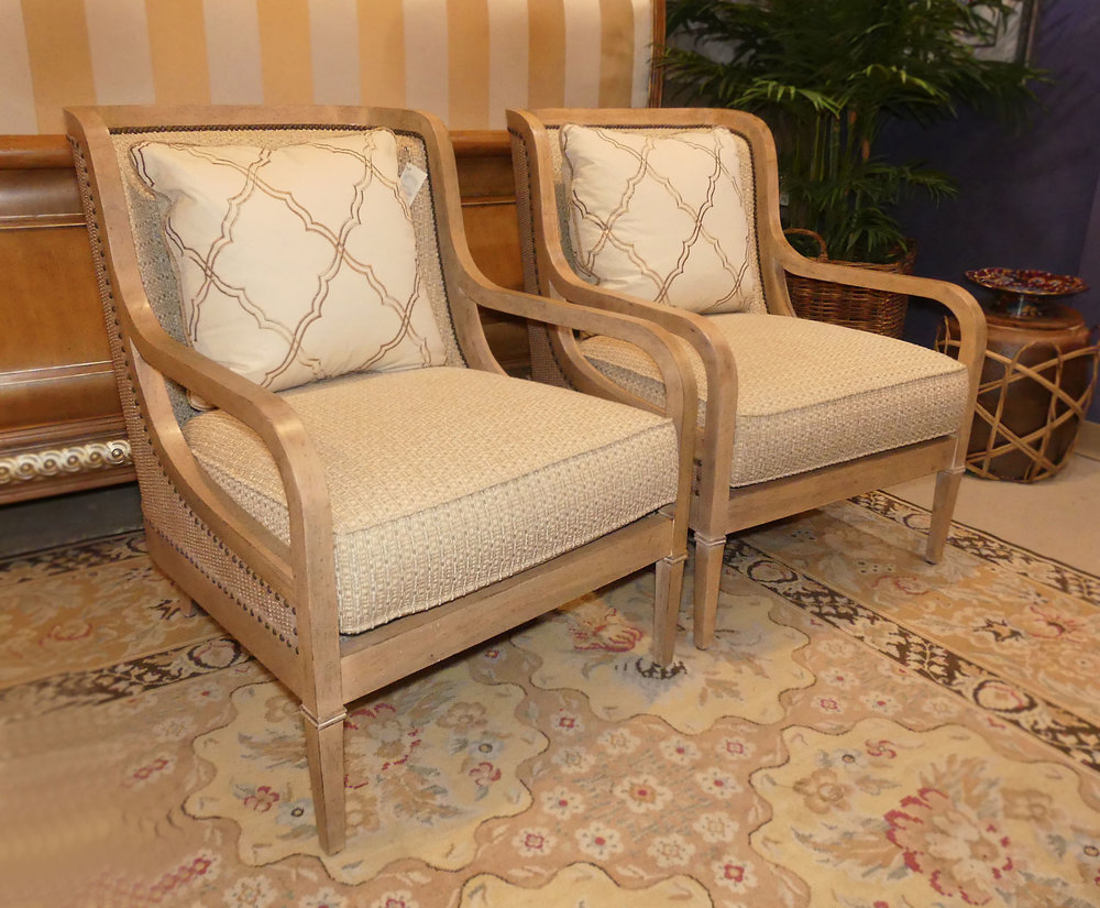 SOLD  Pair of 2 Lexington Monterey Sands Archer Chairs