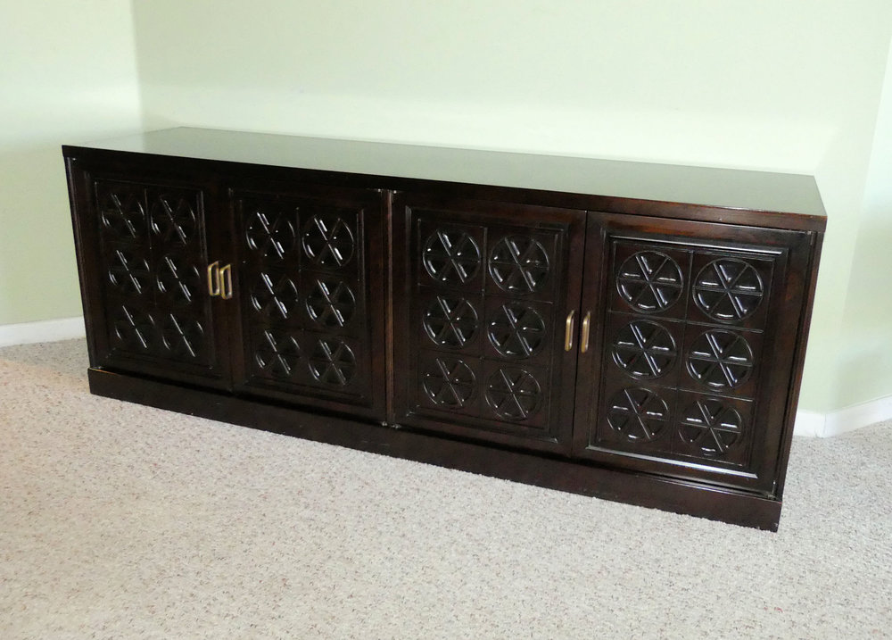 Mid-Century Mahogany Buffet or Credenza by Johnson Furniture for Directional  $2,400