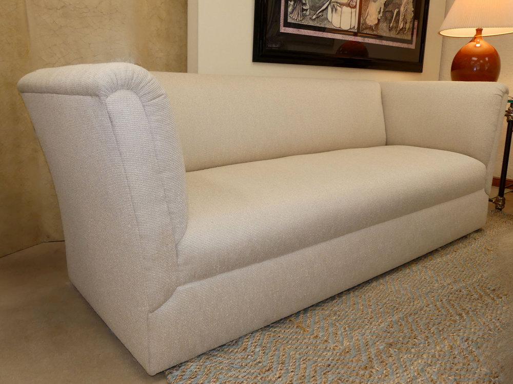 High-End Designer Contemporary Tuxedo Sofa 2 Available  $1,495 each