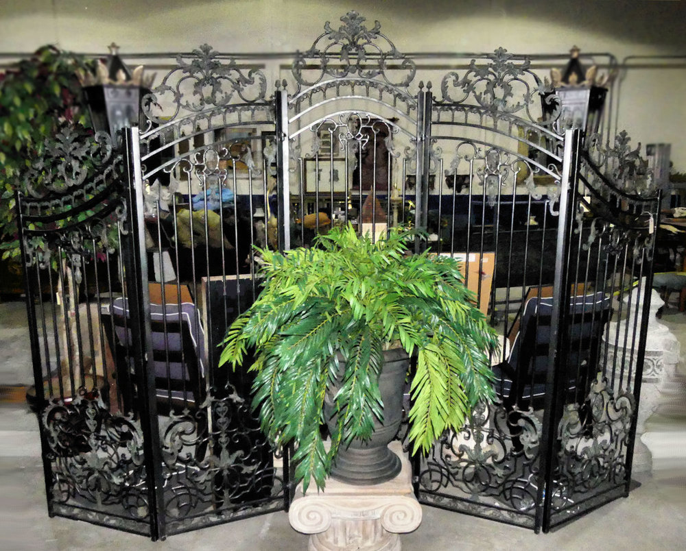 Maitland Smith Iron Gate or Room Screen