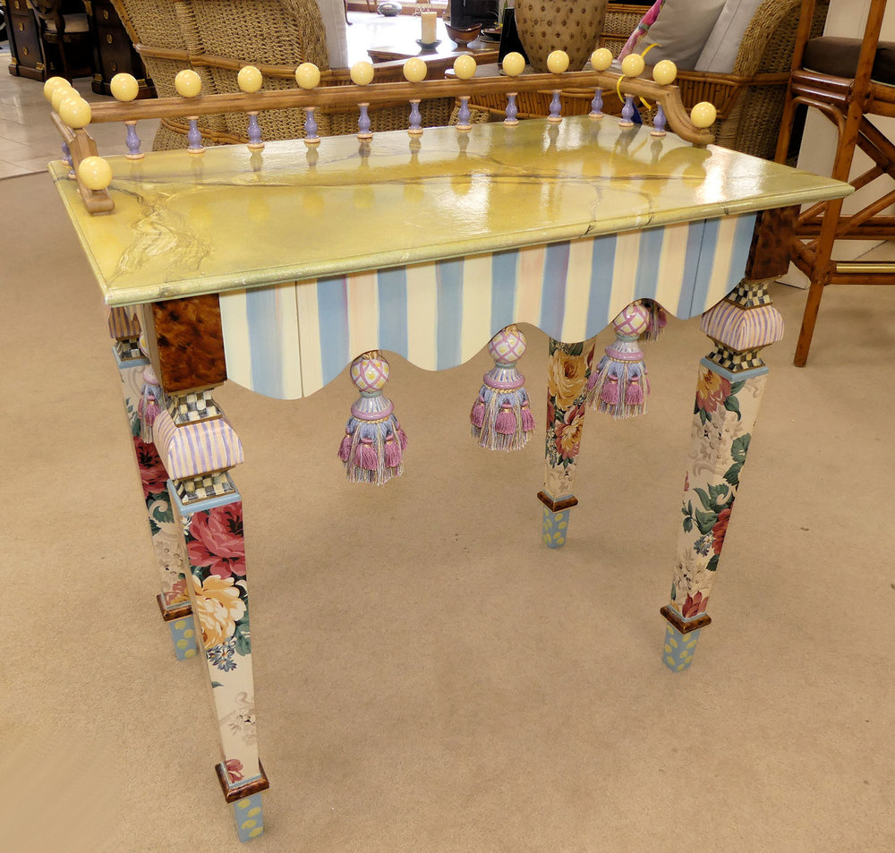 SOLD  MacKenzie Childs Desk