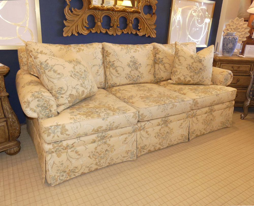 SOLD  Ralph Lauren Lawso Sofa Made in America by EJ Victor