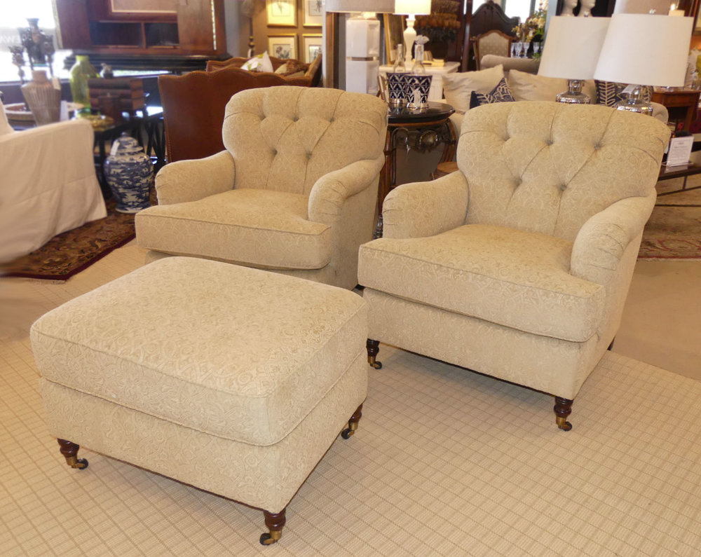 View the coordinating chairs by Kravet here...