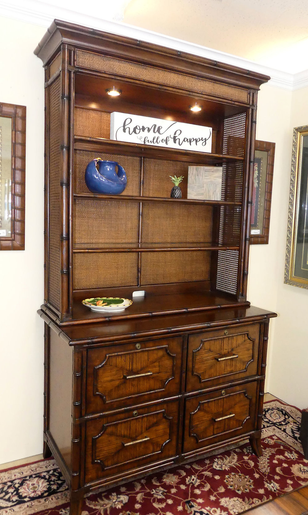 View the matching file chest with bookcase deck here...