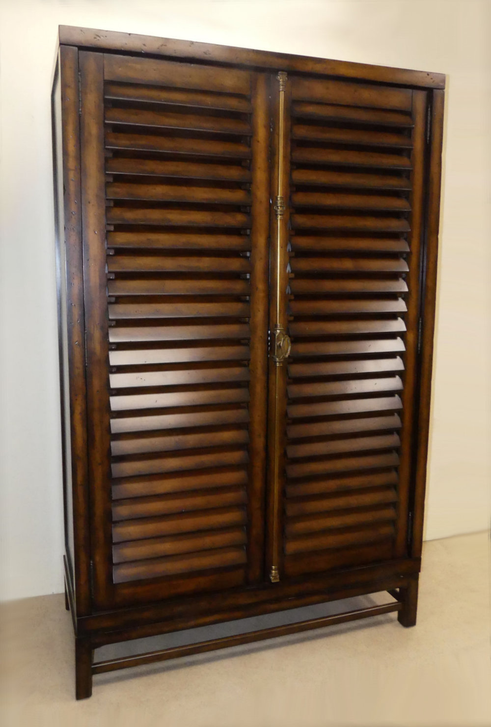 SOLD Ralph Lauren Cottage/Plantation Style Flat Screen Armoire Cabinet