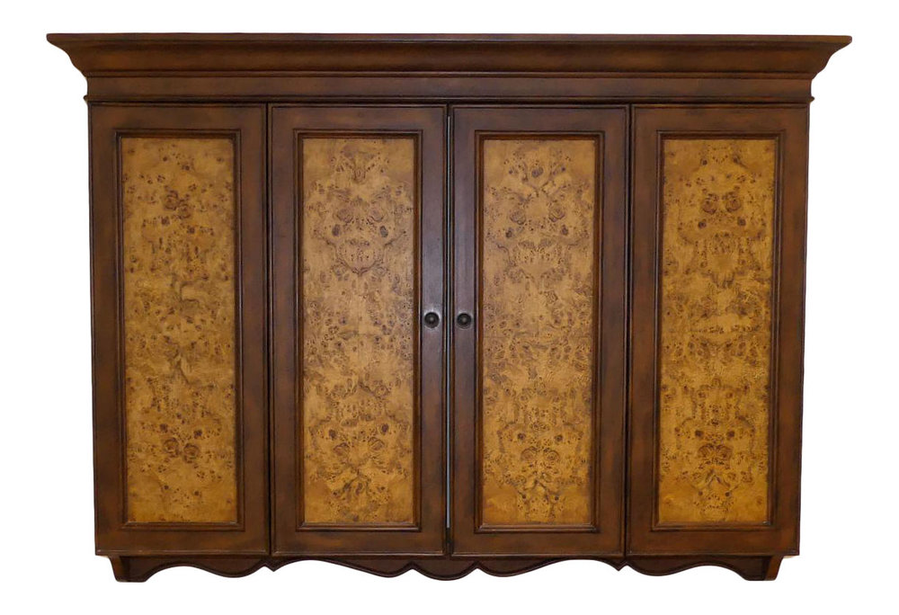 Horchow Wall Mount Flat Screen TV Cabinet  $695