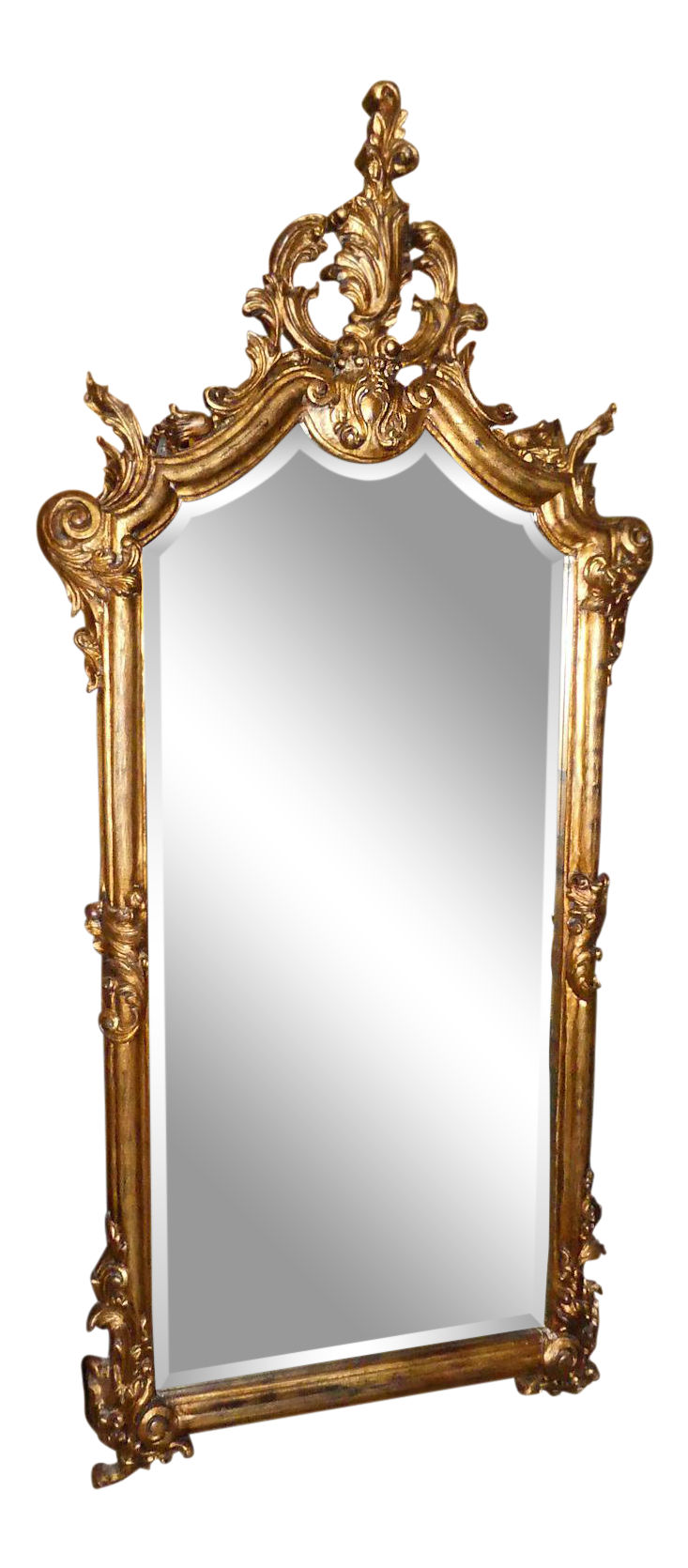 LaBarge Gilt Wood Mirror - Made in Italy