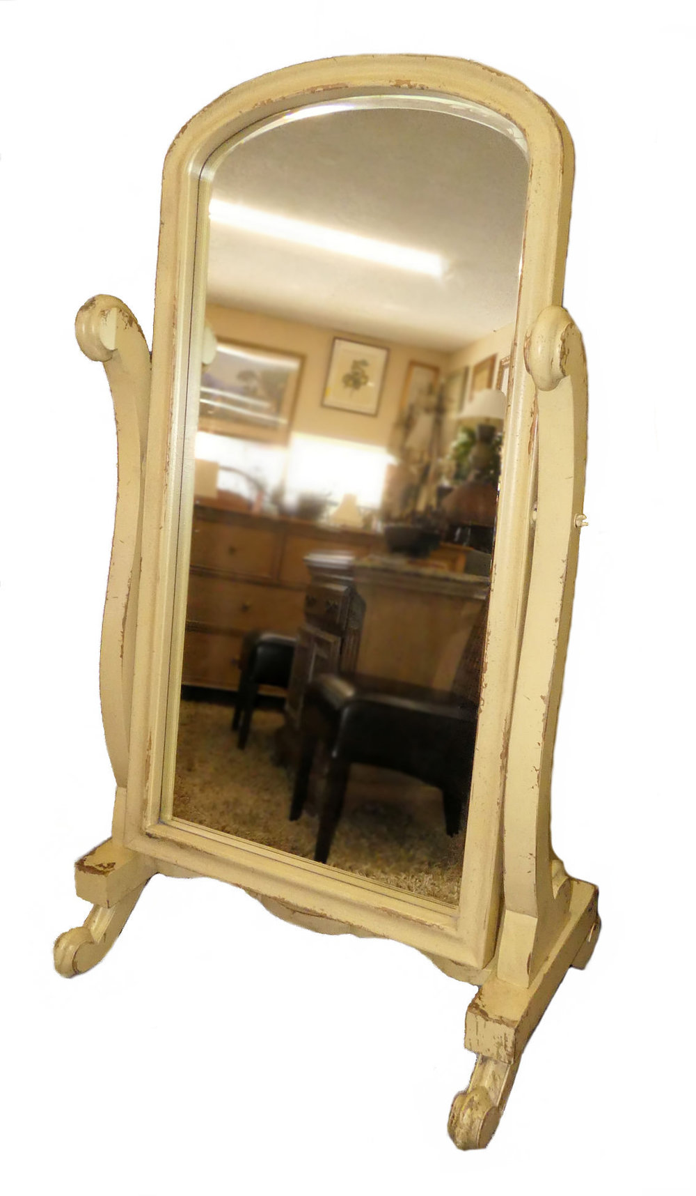 SOLD - Habersham Cheval Mirror