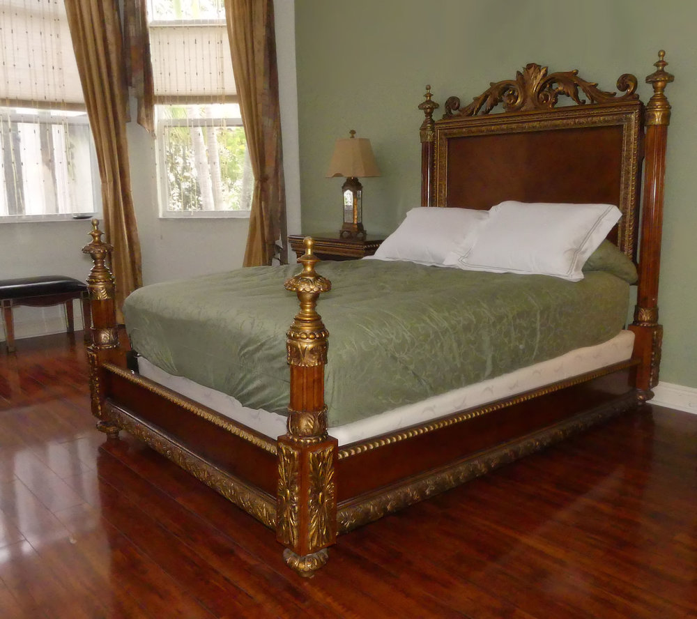 SOLD Pulaski Belissimo Queen Size Bed