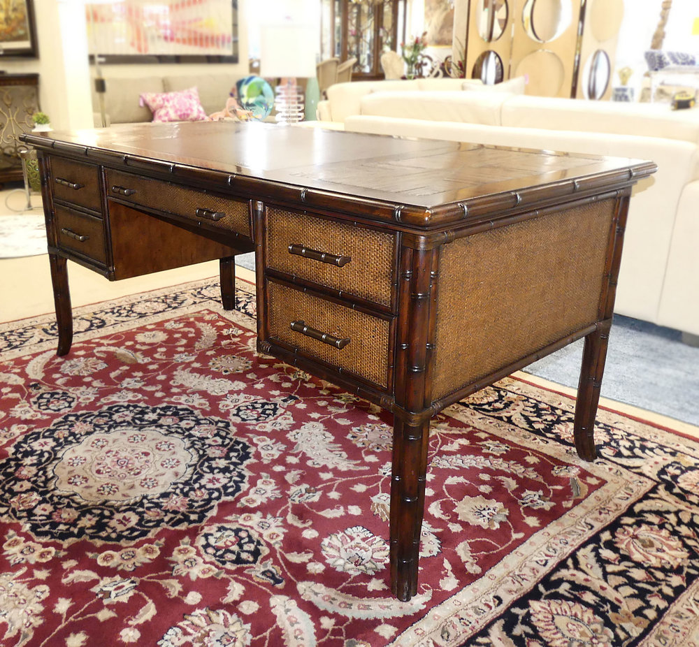 SOLD Sligh Bal Harbour Paradise Isle Desk with