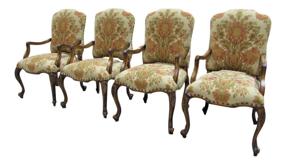 Set of 4 Hooker Gerard Dining Arm Chairs 200-35-367   REDUCED: $1,350 /  Previously: $2,200