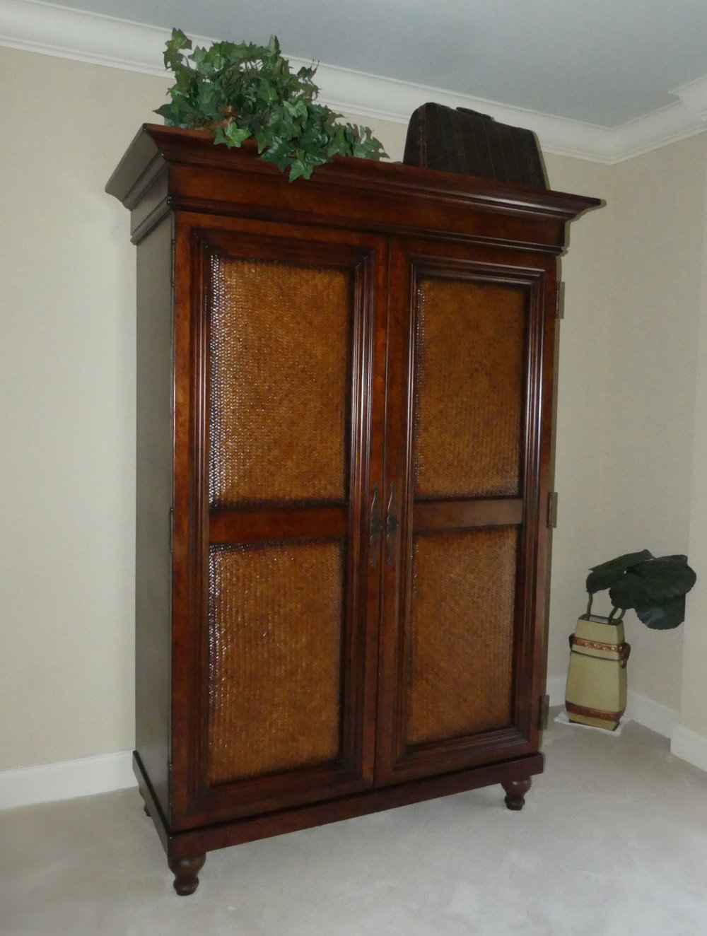 Tommy Bahama Armoire   REDUCED: $1,200