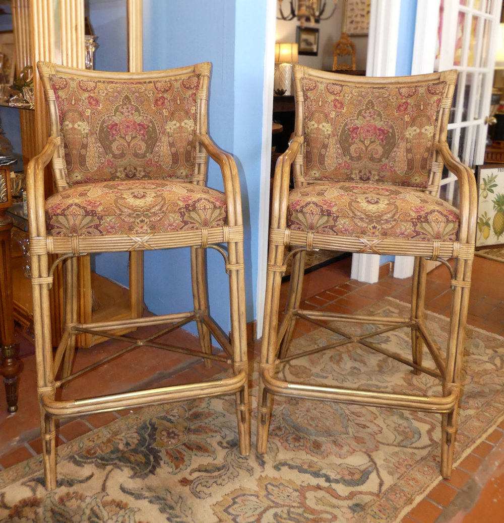 SOLD  Pair of 2 Ferguson Copeland Brighton Bar Stools