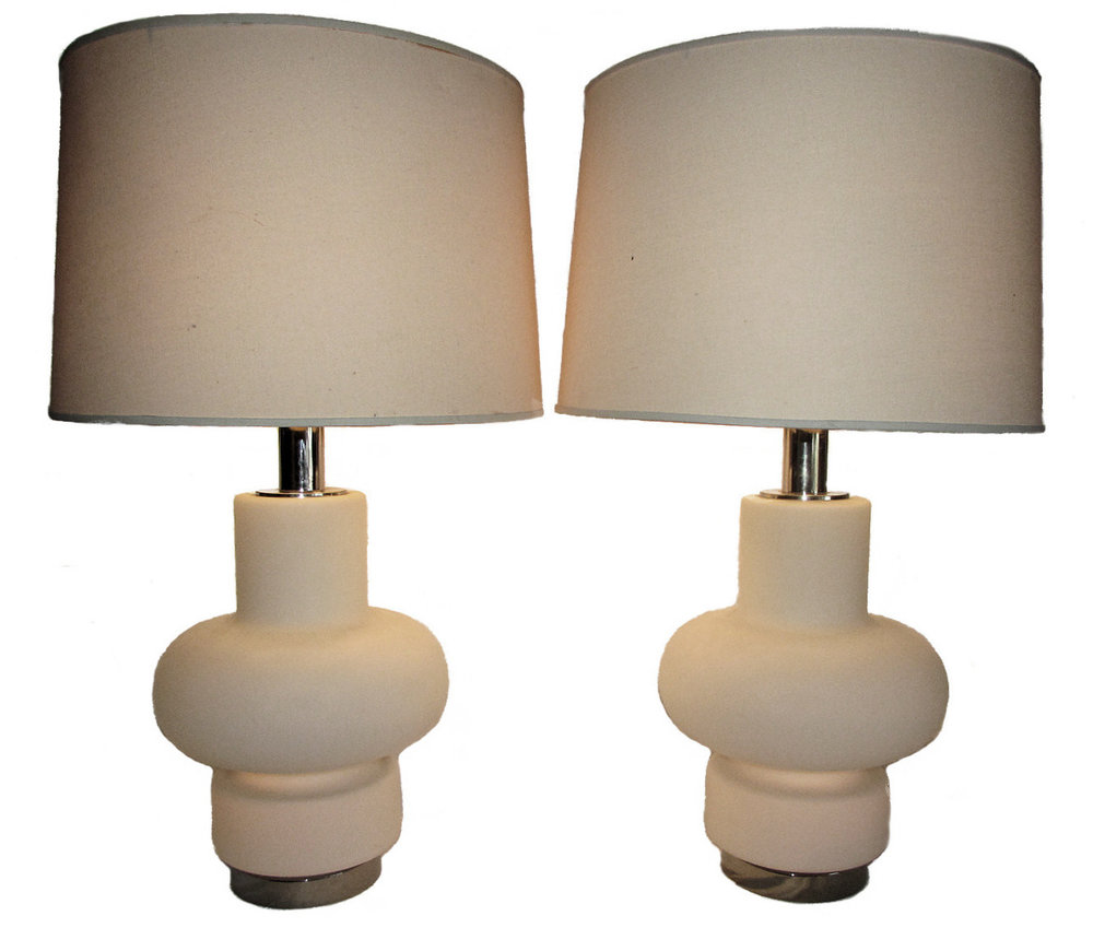 1970s Mid-Century Modern Bobo Piccoli for Laurel Table Lamps - a Pair  $2,450