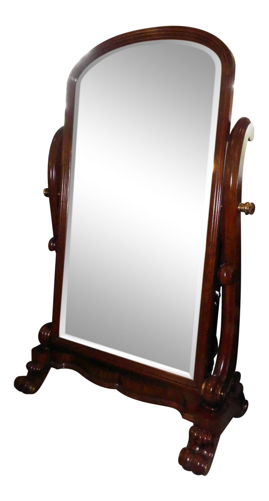 SOLD Maitland Smith Large Scale Cheval Floor Mirror