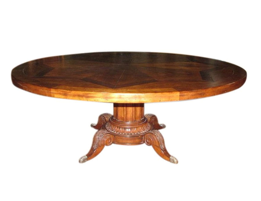 Century Classics Norfolk Round Pedestal Dining Table   REDUCED: $2,495  / Previously: $3,995