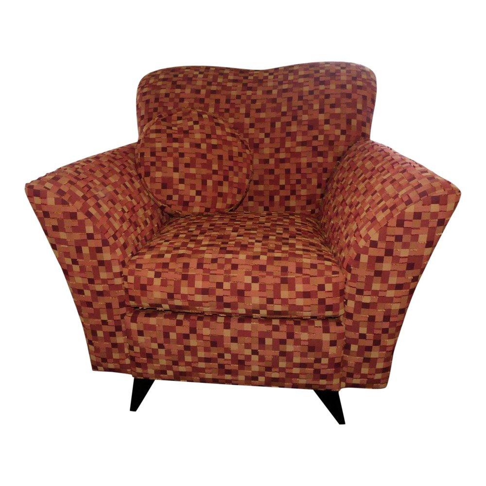 Dakota Jackson Cosmoledo Club Chair  $995