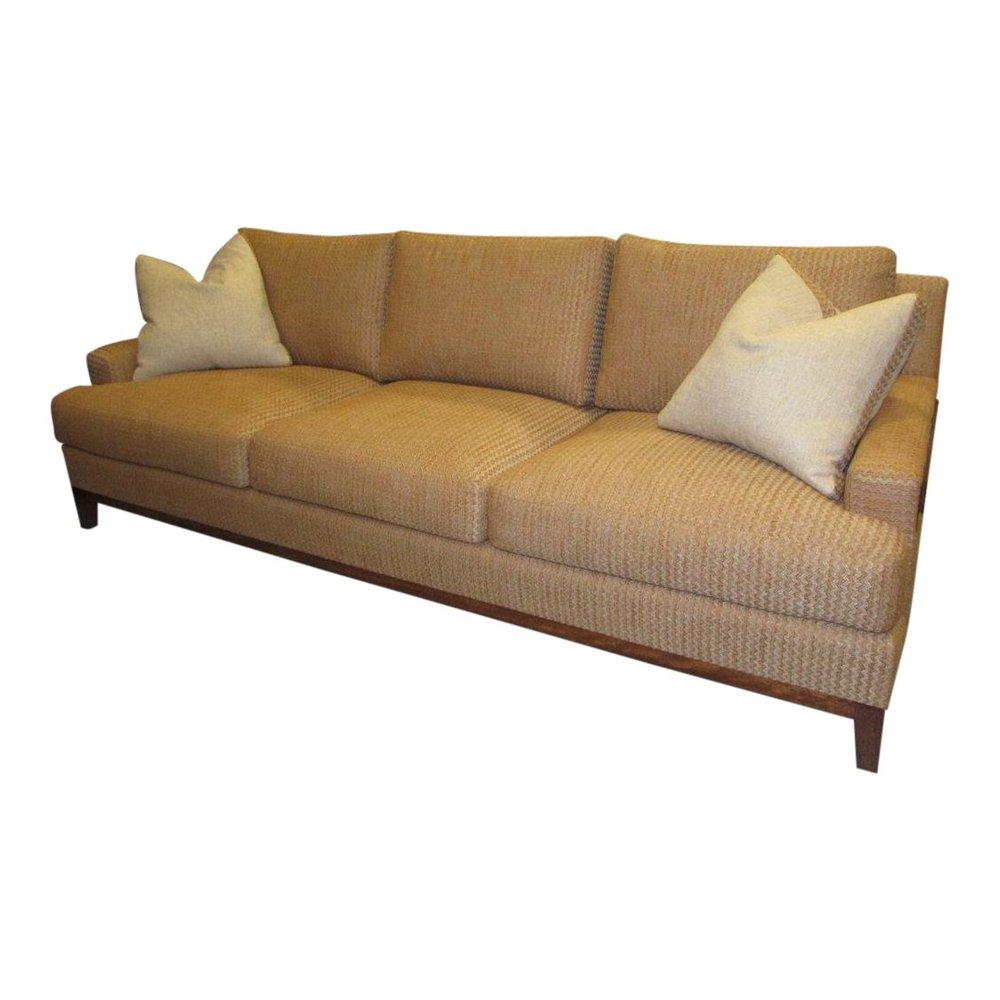 Adriana Hoyos Contemporary Sofa - Showroom Floor Sample Reduced: $2,000  / Originally: $3,800