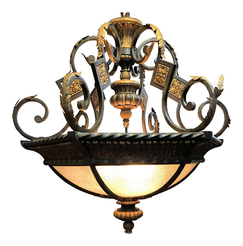 SOLD Fine Art Lamps Castile Large Pendant Chandelier