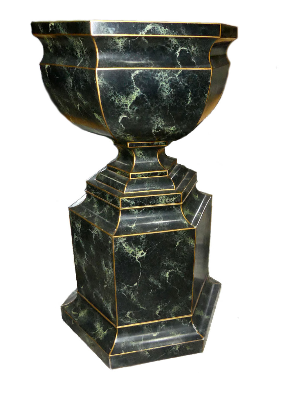 Maitland Smith Hand Painted Urn