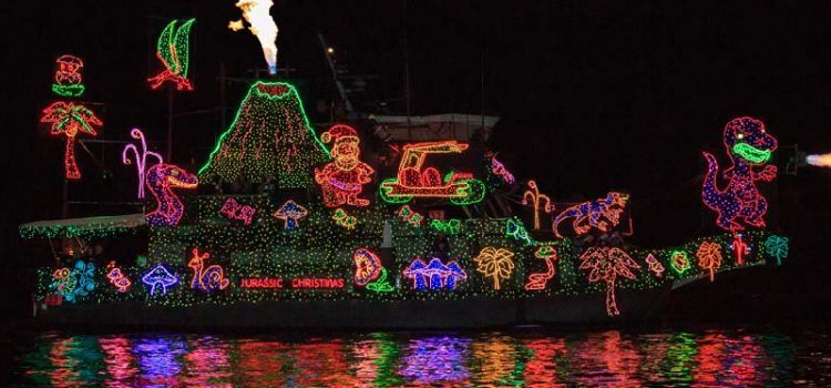 Photo By:  Newport Christmas Boat Parade Website