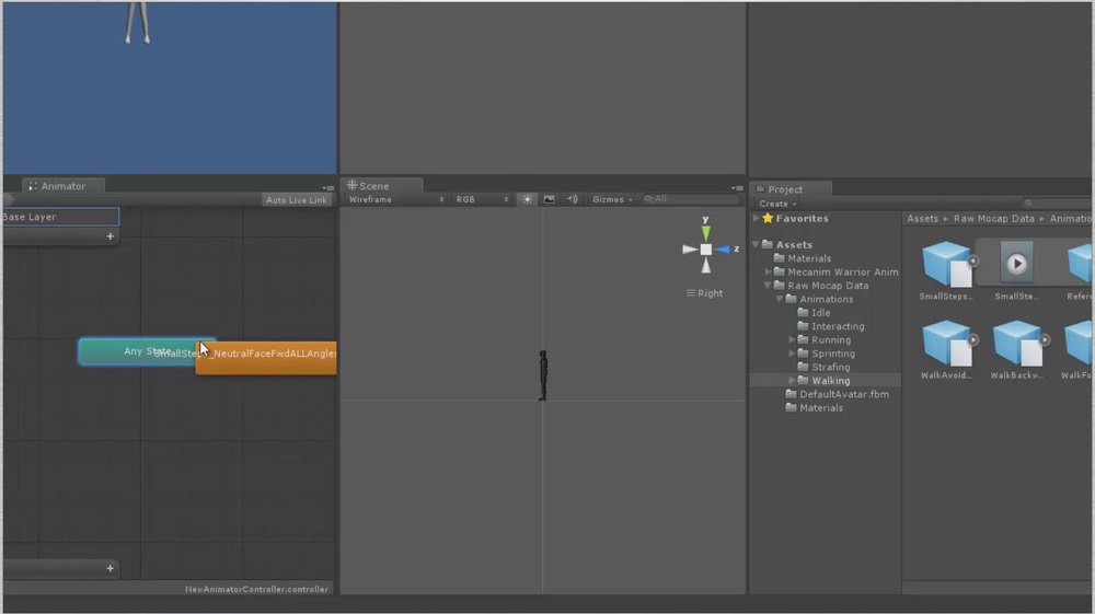 Drag animation onto Animation controller