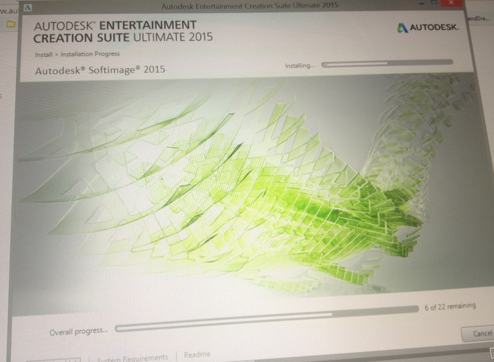 The Autodesk 2015 releases mark the final version of Softimage. I had to grab the screenshot above to mark the sad occasion of the first install of the final release.