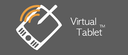 The Virtual Tablet app is available in both the Windows and Google Play app stores.