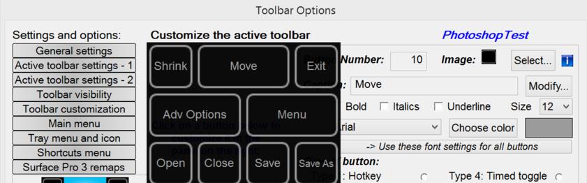 Toolbar Creator makes custom artdocks easy — Surface Pro Artist