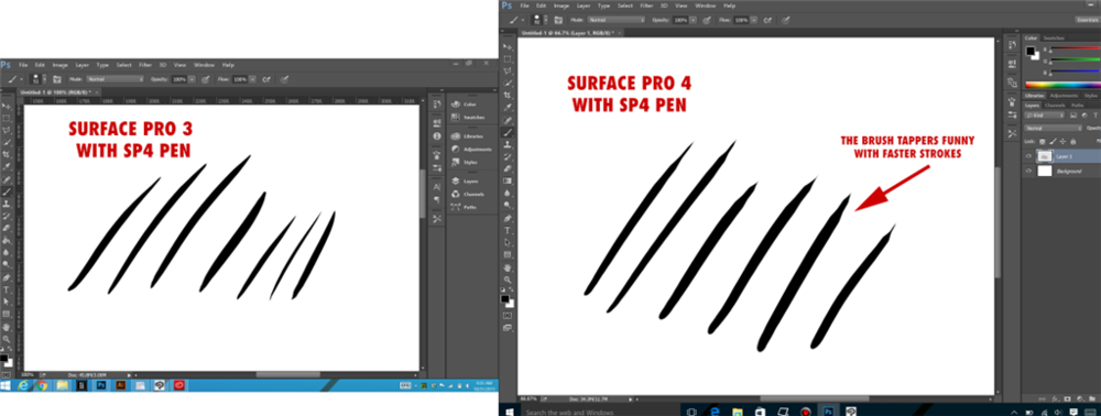 surface book is great but 2d artists should stick with the surface