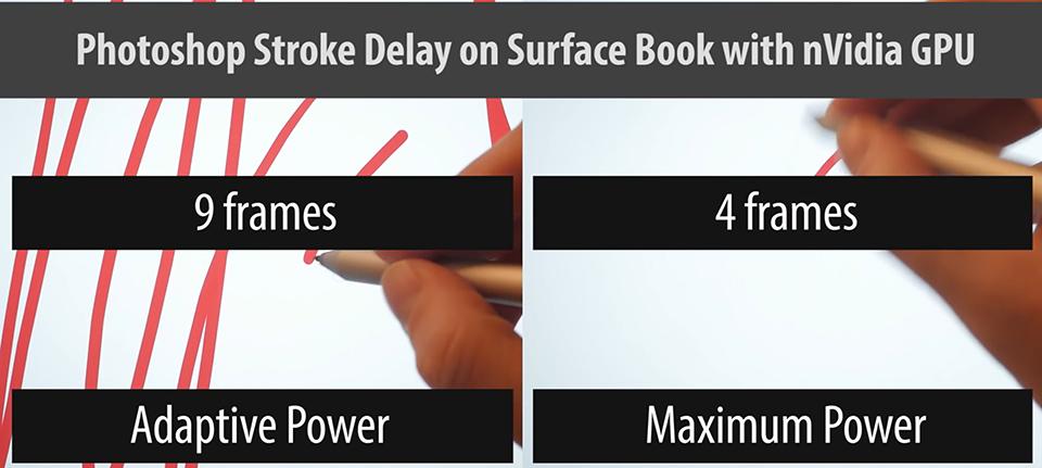 Minor tweak boosts Photoshop dGPU Surface Book performance — Surface
