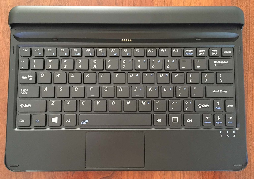 The connector at the top of the keyboard is difficult to align with the tablet and usually requires a couple of tries to get right.