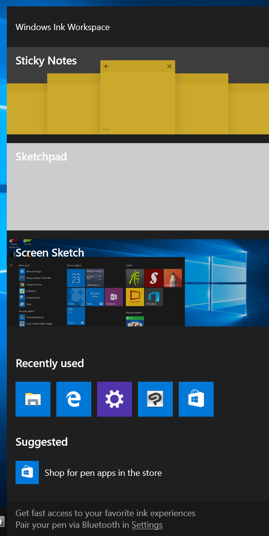 getting windows 10 out of tablet mode