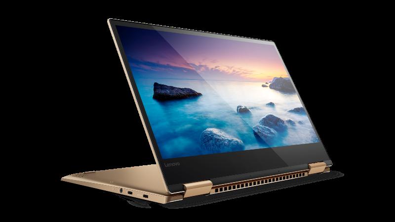 Windows® 10 convertible laptops Lenovo Yoga 720 in Copper