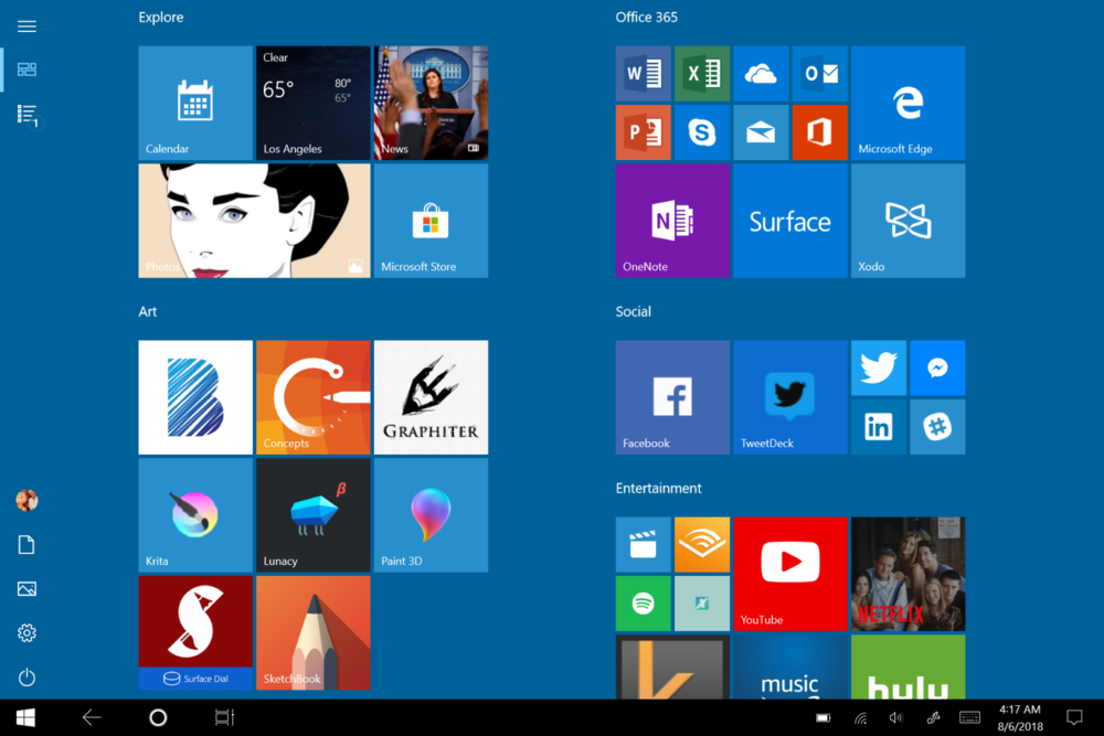 Living in S Mode sans keyboard brought back waves of nostalgia for Windows 8.