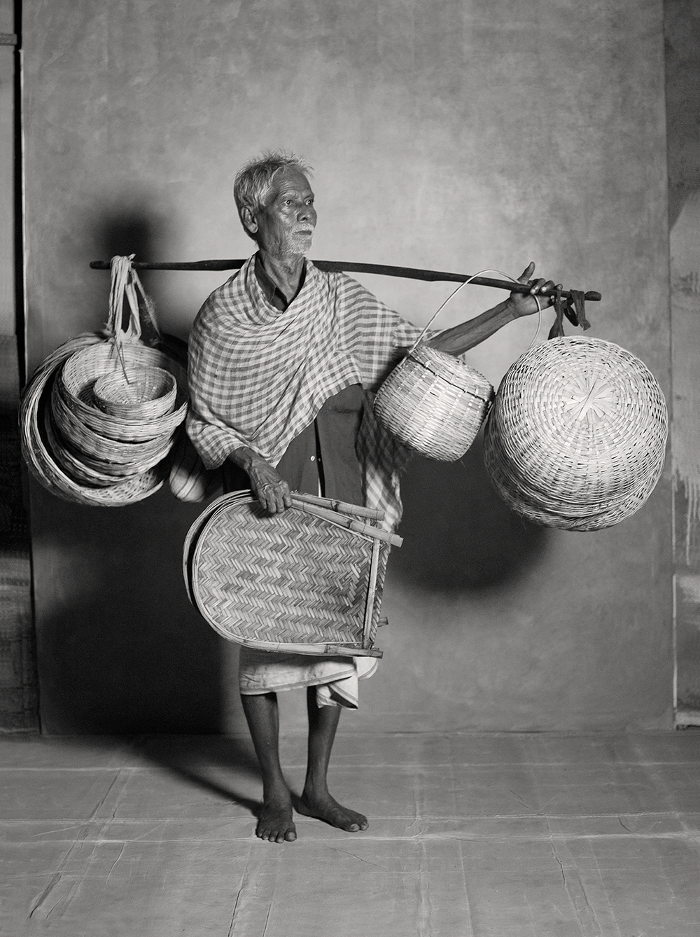 CANE-BASKET MAKER/SELLER, $10 WEEKLY, 2011