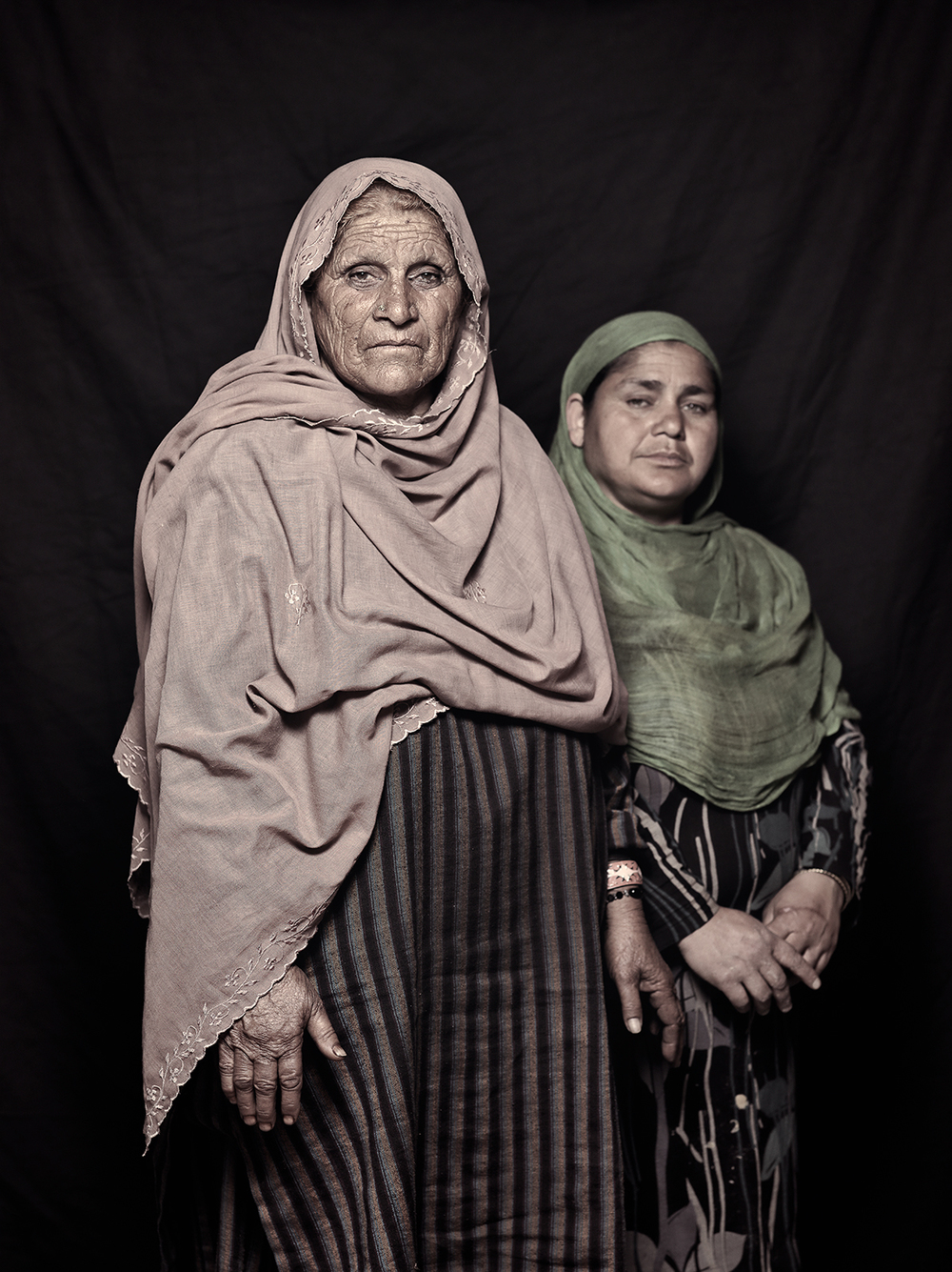Teja Bibi, 63 and Naseema Begum, 42, D-camp, 2013