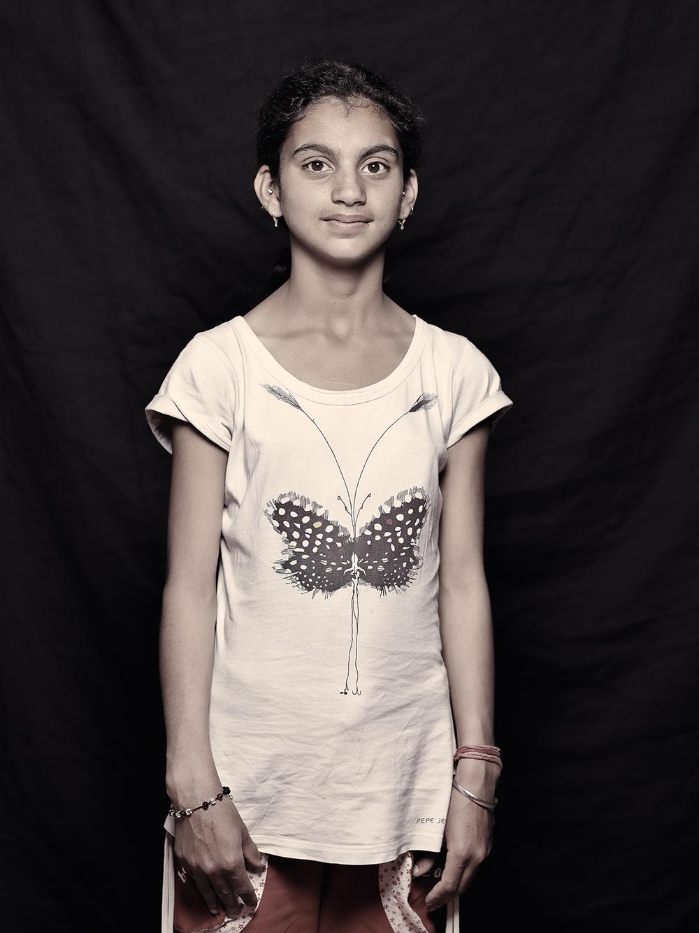 Mahfooza Yasmin, 13, D-camp, 2013