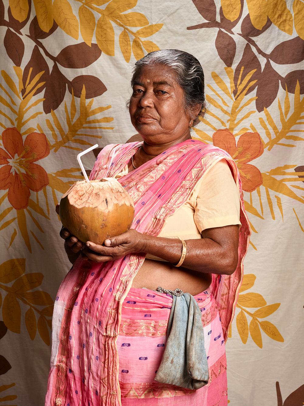 Shanti Sardar, 61 | Coconut-water Seller