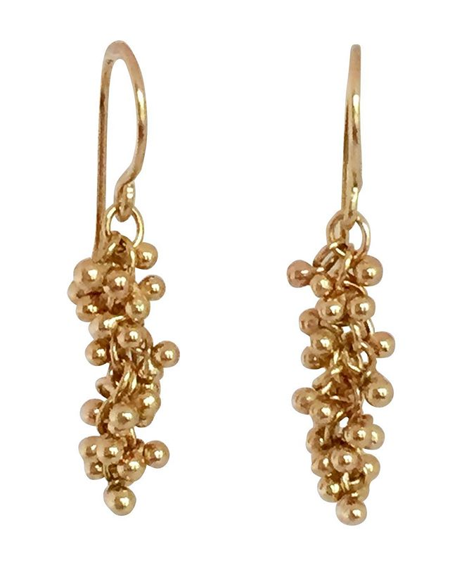The Ancient Art of Granulation, with a twist. Elaborate, romantic and timeless. #gold #lovegold #goldearrings #earringsoftheday #finejewelry #goldjewelry #designer #jewelry #handmade #magallyjewelry #instajewelry #jewelrygram #jewelrydesigner #connecticut
