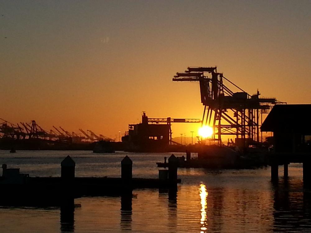 Oakland Port Cranes