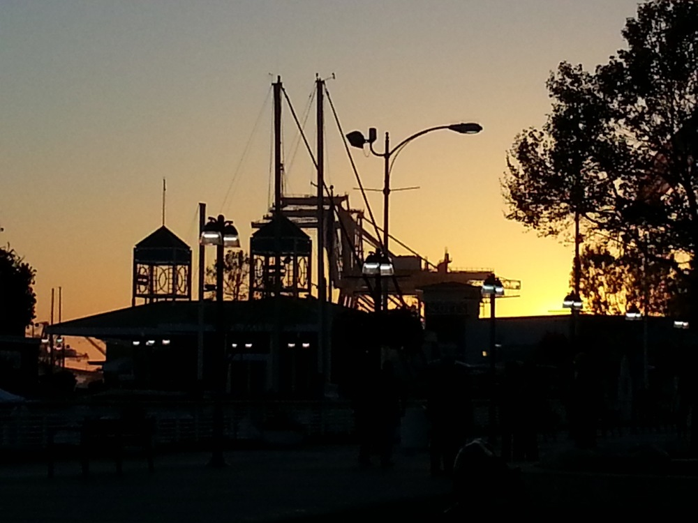 Oakland Docks